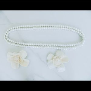 3/$33 Slip On Faux Pearl Necklace